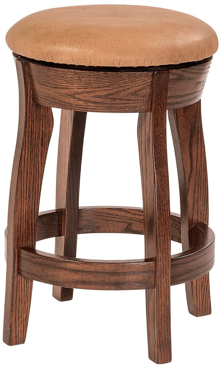 Upholstered Dunwoody Swivel Counter Stool