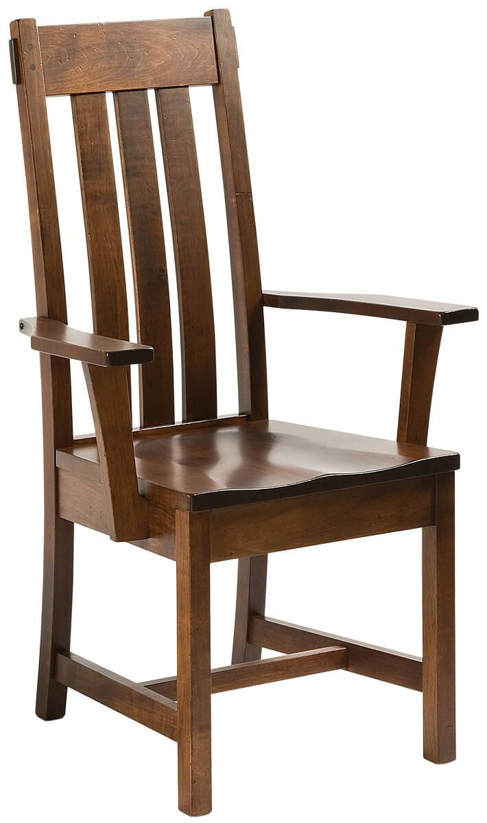 Guadalupe Mission Arm Chair