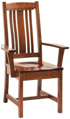 Harding Craftsman Dining Arm Chair