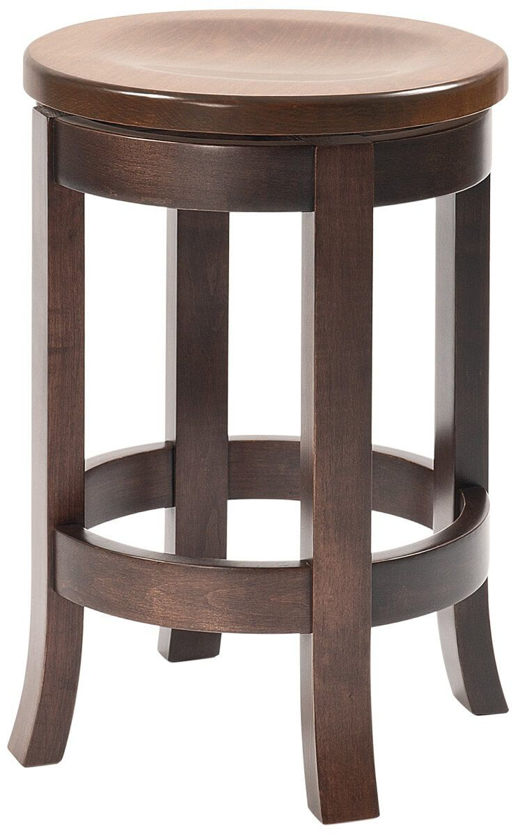 Harrow Swivel Amish Bar Stool