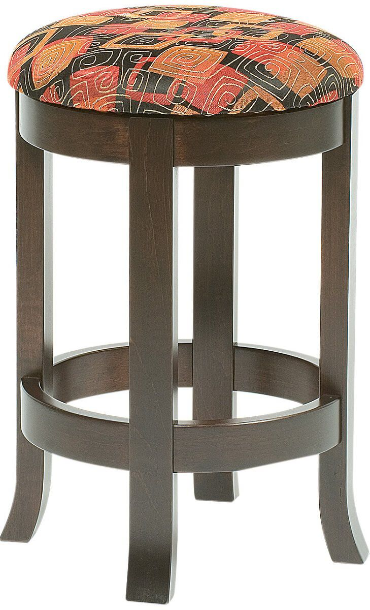 Harrow Upholstered Swivel Bar Stool