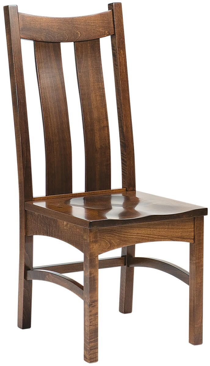 Hightower Gap Solid Wood Shaker Side Chair