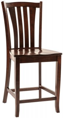 Kauri Cliffs Solid Wood Amish Bar Chair