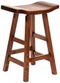 Lennox Saddle Counter Stool