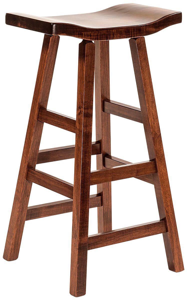 Bar Height Saddle Stool