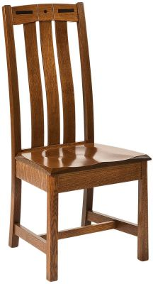 Mason City Solid Wood Side Chair