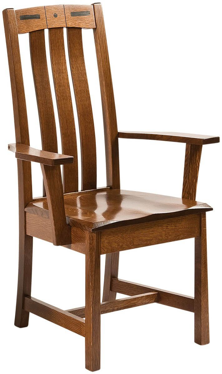 Mason City Mission Style Arm Chair