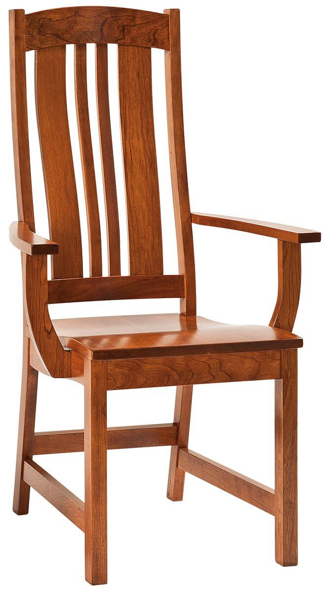 Matson Hill Amish Arm Chair in Cherry
