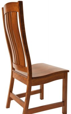 Back view of Matson Hill Amish Dining Chair