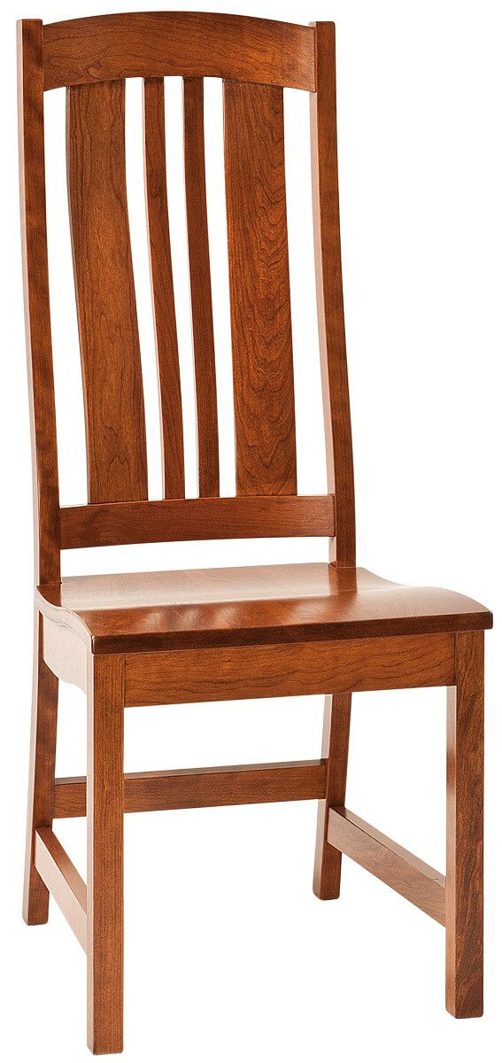 Matson Hill Amish Side Chair in Cherry