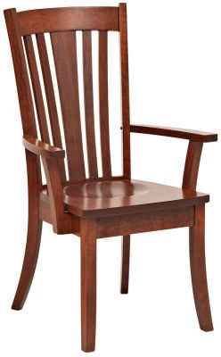 Medina Solid Wood Arm Chair