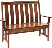 Moncada Craftsman Dining Bench