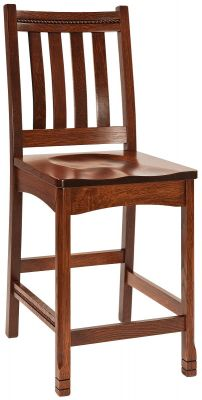 Parron Mission Bar Chair