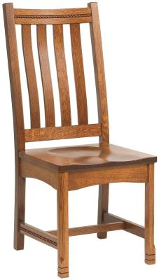 Parron Mission Side Chair for Dining Room