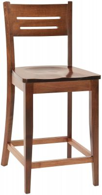 Pompeii Solid Wood Kitchen Counter Stool