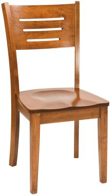 Pompeii Solid Wood Side Chair
