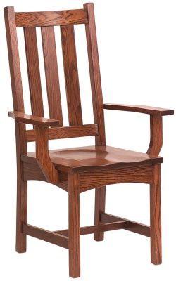 Portola Mission Arm Dining Chair