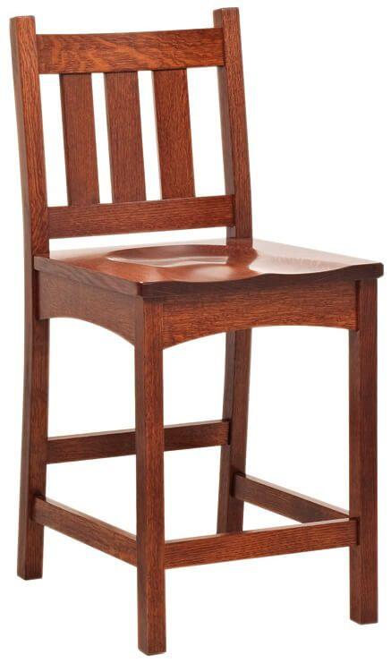 Portola Mission Bar Chair
