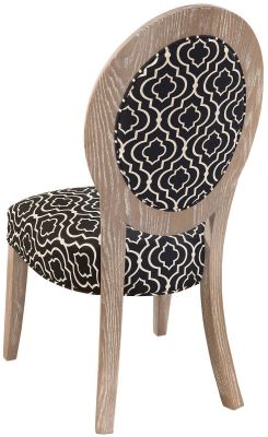 Rear view of  Ravello Upholstered Dining Chair