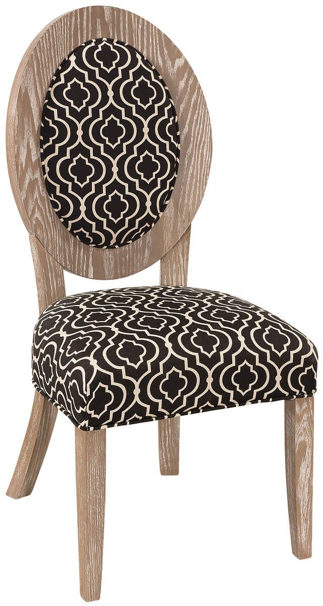 Ravello Upholstered Dining Chair in Oak