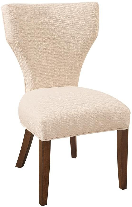 Reston Trail Upholstered Dining Chair in White