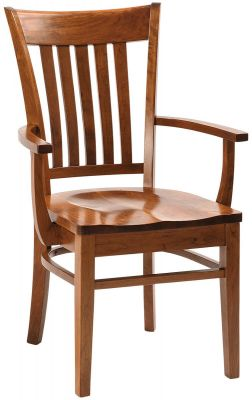 Rosetto Side Chair in solid Cherry