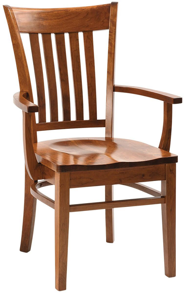 Rosetto Amish Handmade Dining Chairs - Countryside Amish ...