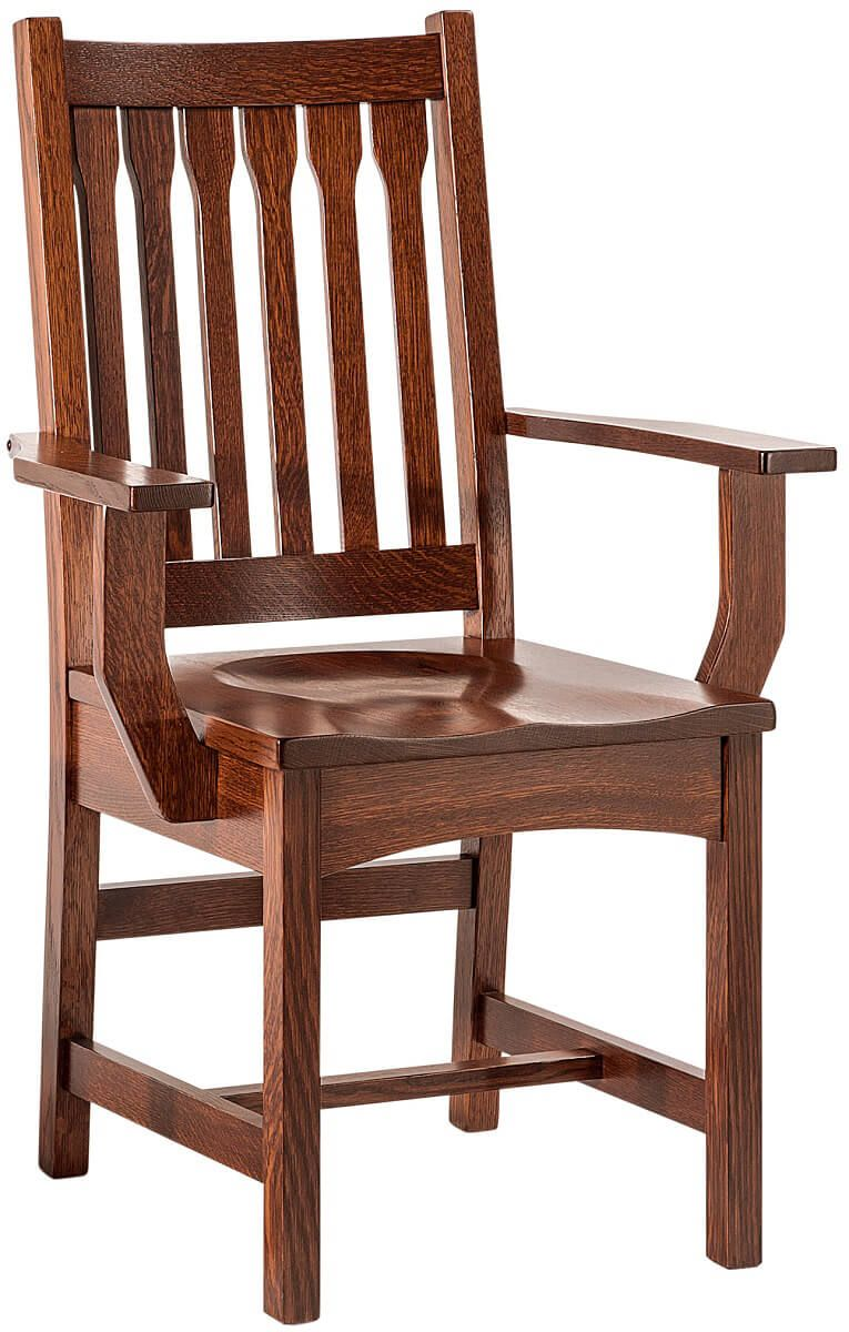 San Paulo Mission Arm Chair