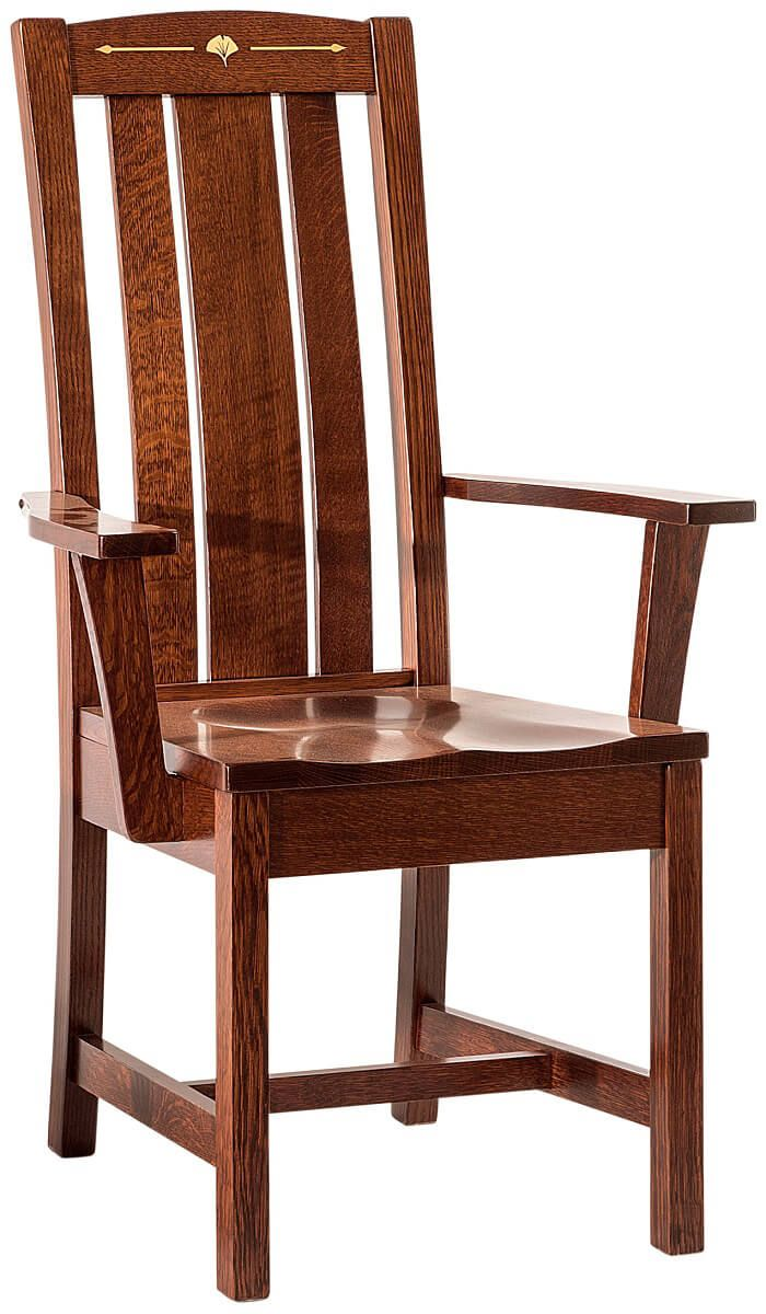 Singita Amish Made Mission Arm Chair