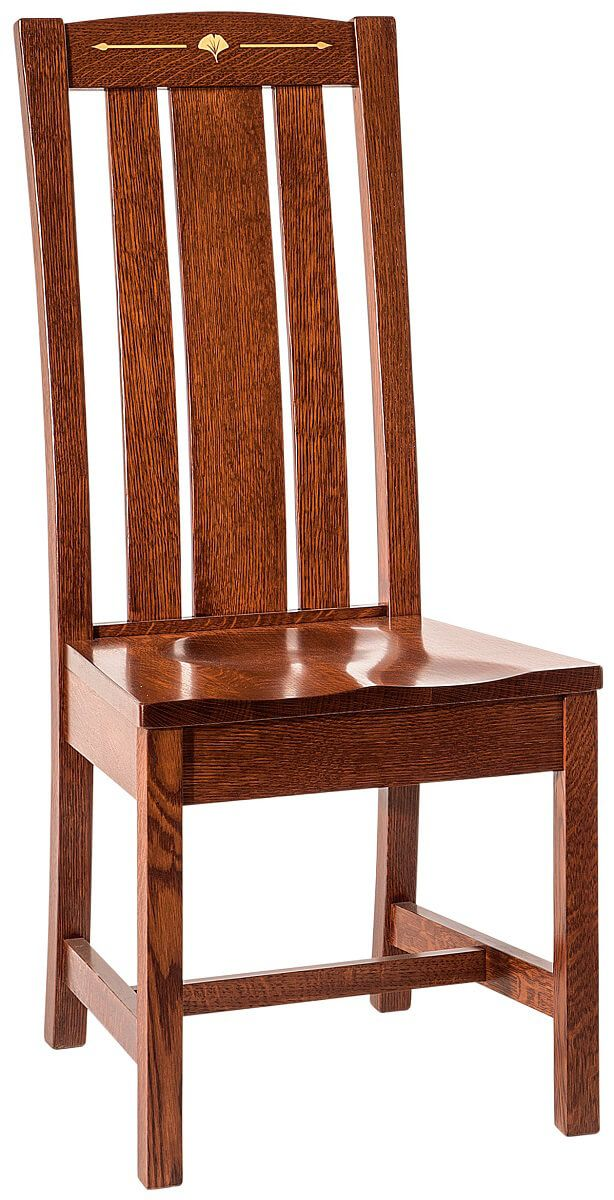 Singita Solid Wood Mission Side Chair
