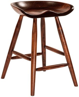 Spring City Solid Wood Kitchen Counter Stool