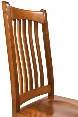 Solid Wood Mission Dining Chair