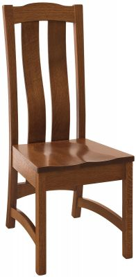 Torres Handmade Solid Wood Side Chair