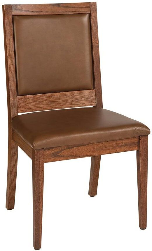 Vesper Leather Side Dining Room Chair