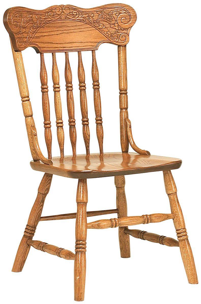 Woodbridge Press Back Side Chair