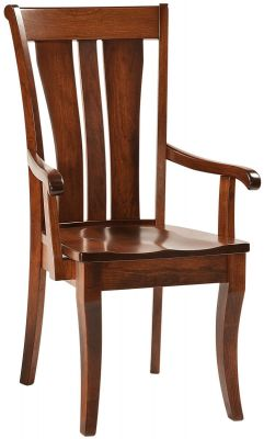Zippelli Solid Wood Arm Chair