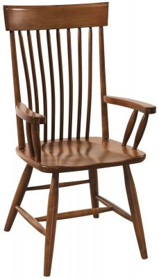 Cash Amish Spindle Arm Chair