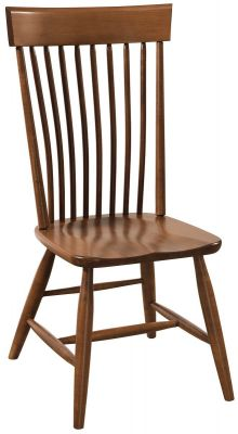 Cash Solid Wood Spindle Side Chair