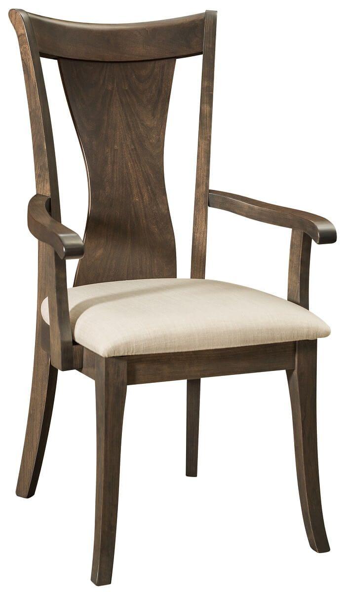 Emporia Contemporary Dining Arm Chair