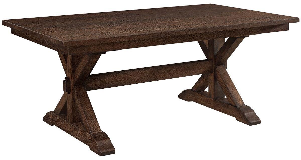 Huntsville Trestle Table