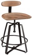 Jayden Iron Bar Stool with Back