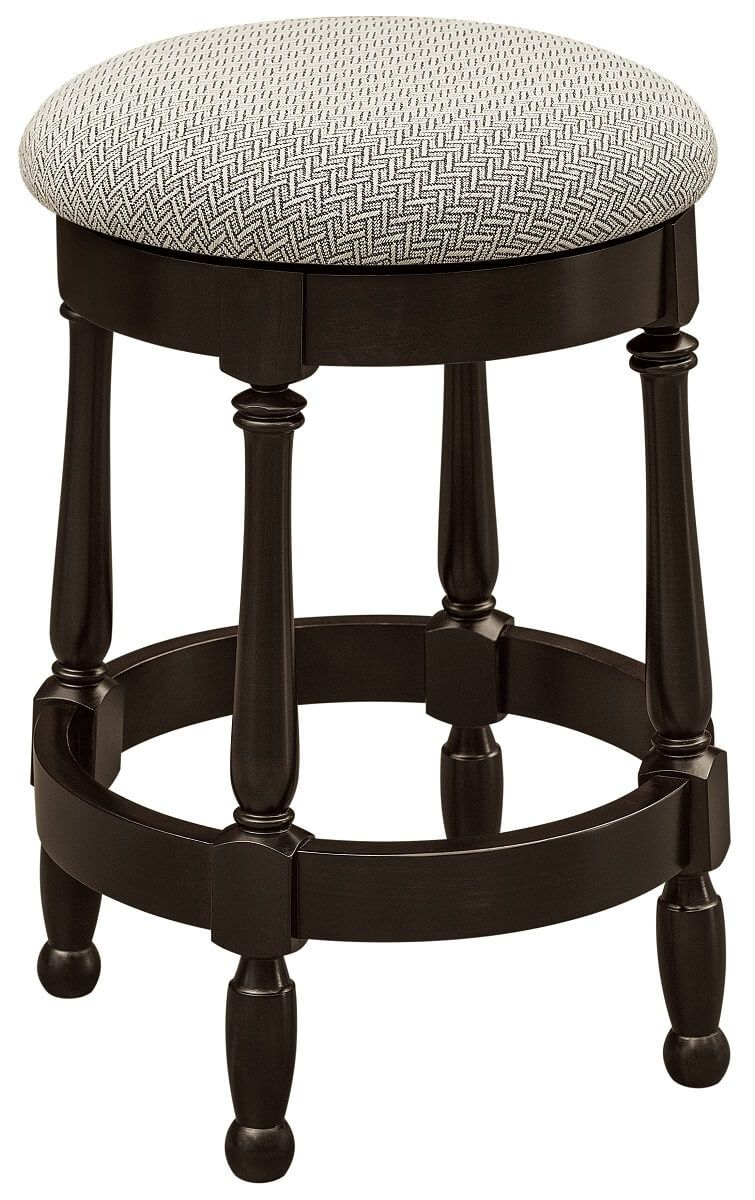 Fabric Upholstered Bar Stool
