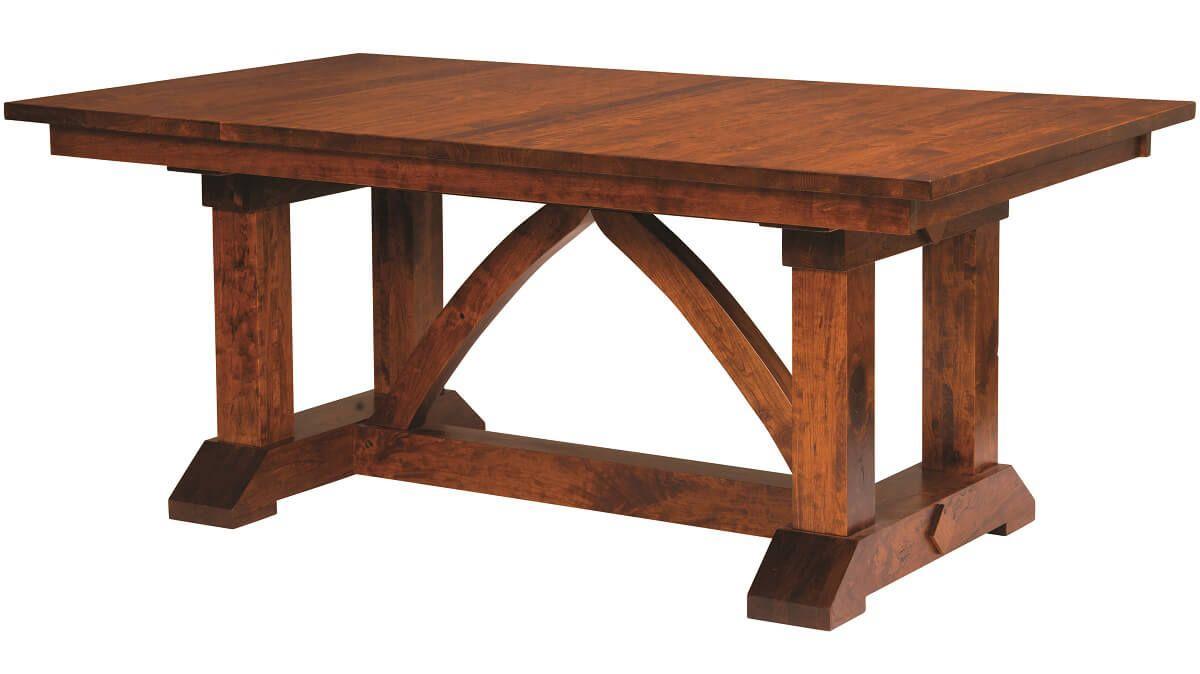 Barton Ridge Craftsman Trestle Table