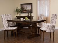 Duvall Plank Top Trestle Table