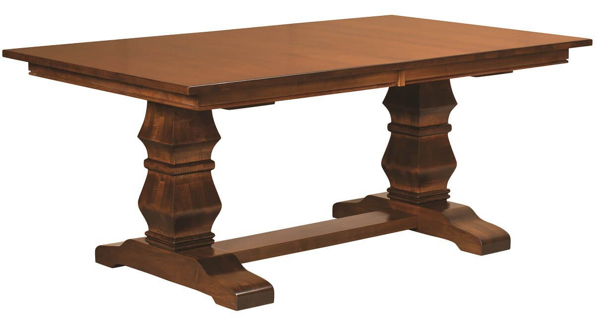 Duvall Solid Wood Trestle Table