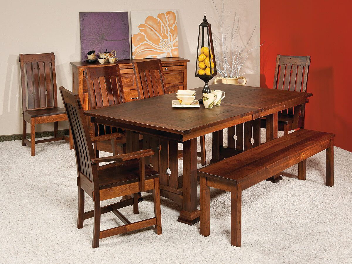Eagle Creek Mission Dining Set