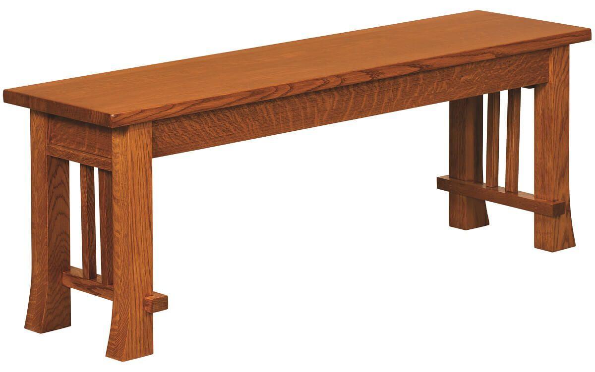 Harding Craftsman Dining Bench