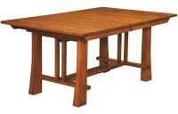 Harding Craftsman Trestle Table