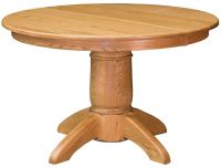 Harper's Ferry Round Oak Table