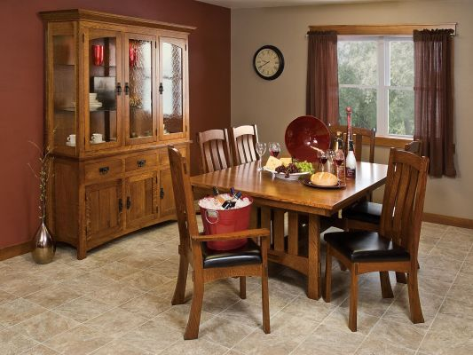 Las Halles Mission Dining Set